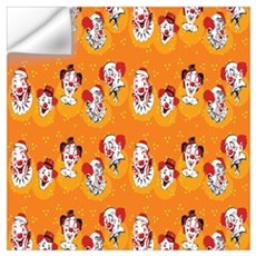 Clowns Wall Decal