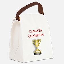 canasta joke Canvas Lunch Bag