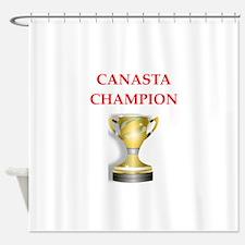 canasta joke Shower Curtain
