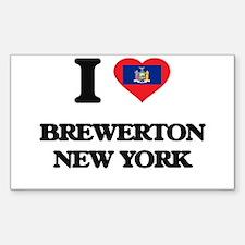 I love Brewerton New York Decal