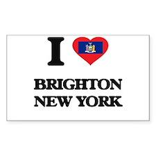 I love Brighton New York Decal