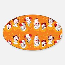 Clowns Decal