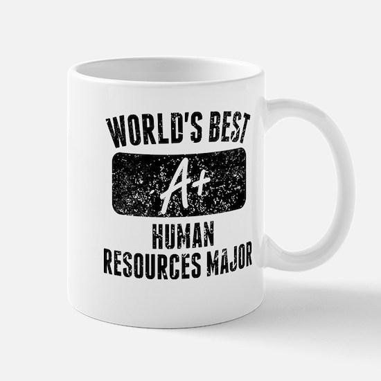 Worlds Best Human Resources Major Mugs