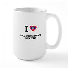 I love Cold Spring Harbor New York Mugs
