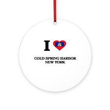 I love Cold Spring Harbor New Yor Ornament (Round)