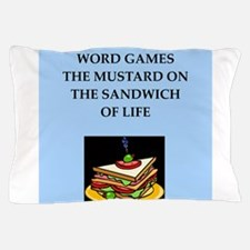 word games Pillow Case