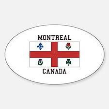 Montreal Canada Bumper Stickers