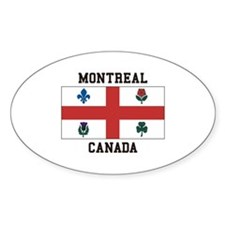 Montreal Canada Decal