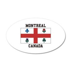 Montreal Canada Wall Decal