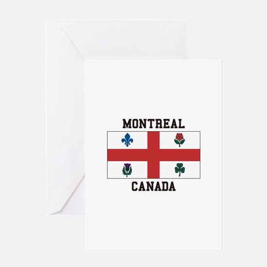 Montreal Canada Greeting Cards