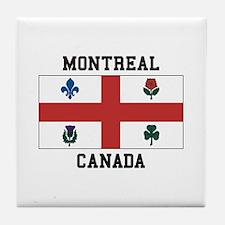 Montreal Canada Tile Coaster