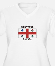 Montreal Canada Plus Size T-Shirt