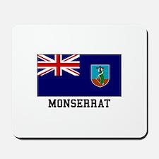 Monserrat Flag Mousepad