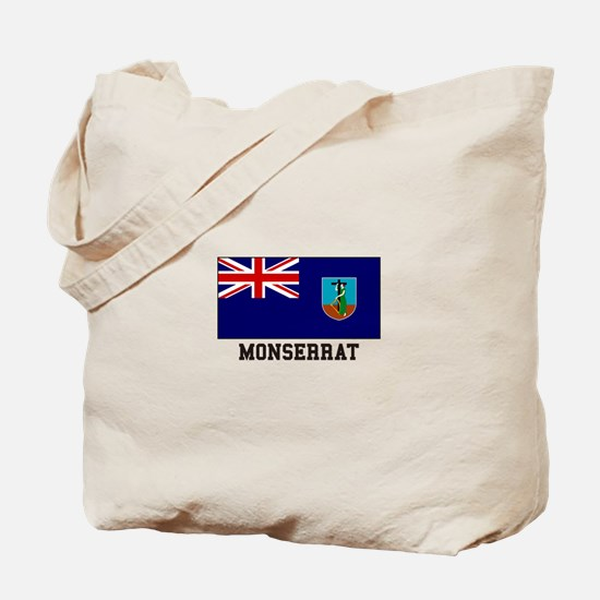 Monserrat Flag Tote Bag