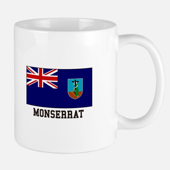 Monserrat Flag Mugs