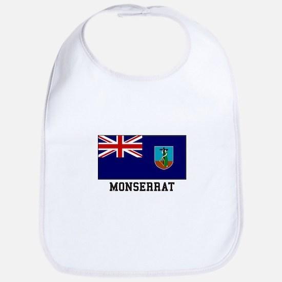 Monserrat Flag Bib