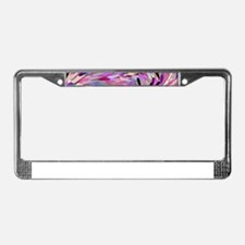 Free Friday,pink License Plate Frame