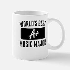 Worlds Best Music Major Mugs