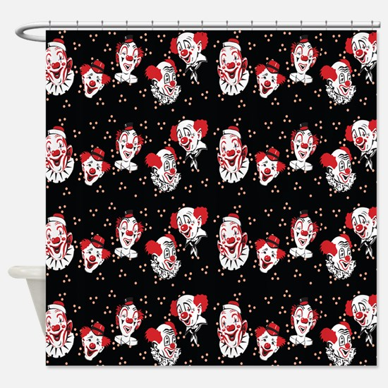 Clowns Shower Curtain