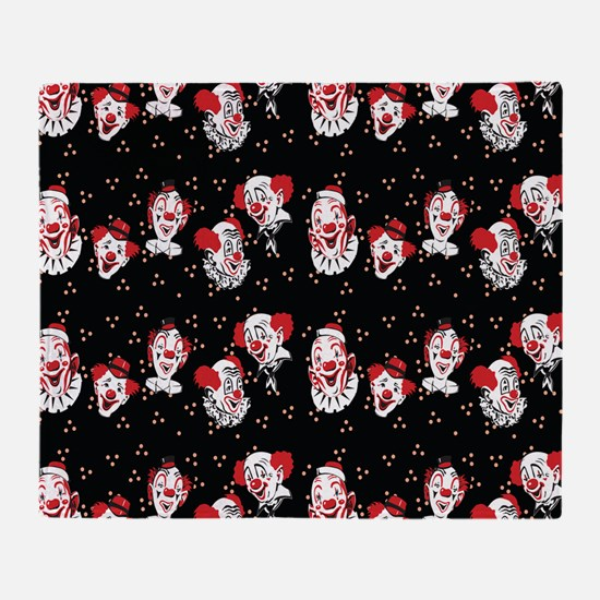Clowns Throw Blanket