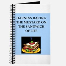 harness racing joke Journal