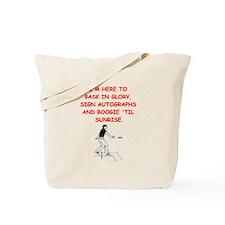 horseshoes joke Tote Bag