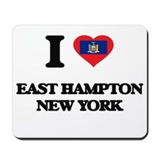 I love East Hampton New York Mousepad