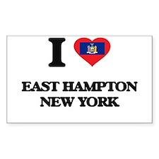 I love East Hampton New York Decal