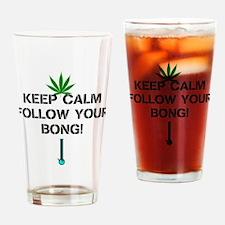 Follow Your Bong Drinking Glass