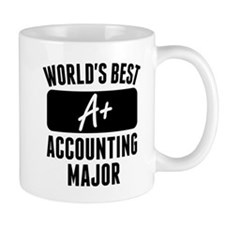 Worlds Best Accounting Major Mugs