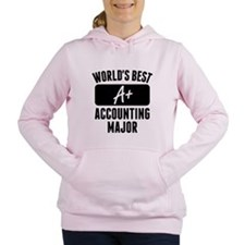 Worlds Best Accounting Major Women's Hooded Sweats