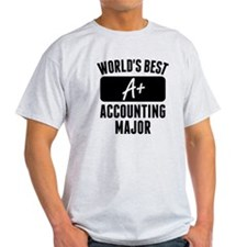Worlds Best Accounting Major T-Shirt