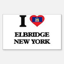 I love Elbridge New York Decal