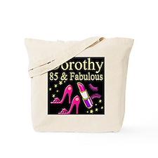 FABULOUS 85TH Tote Bag