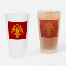 Eastern Roman Empire Flag Drinking Glass