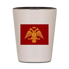 Eastern Roman Empire Flag Shot Glass