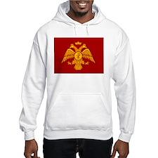 Eastern Roman Empire Flag Hoodie