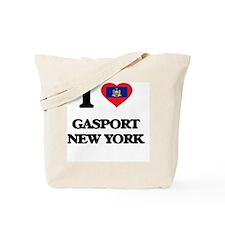 I love Gasport New York Tote Bag