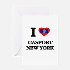I love Gasport New York Greeting Cards
