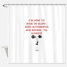 sports joke Shower Curtain