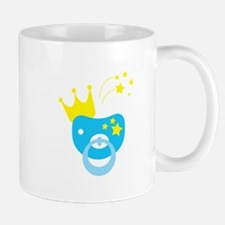 Pacifier and crown Mugs