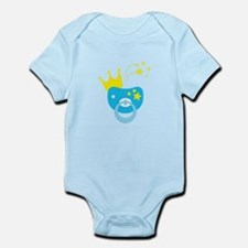 Pacifier and crown Body Suit