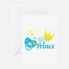 My little prince Greeting Cards