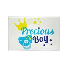 Precious boy crown Magnets