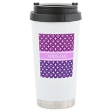 Personalized Purple Vio Travel Mug