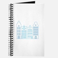 Town row houses Journal