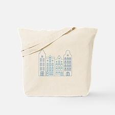 Town row houses Tote Bag