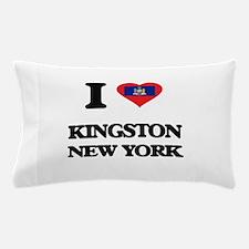 I love Kingston New York Pillow Case