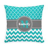 Monogram Burlap Pillows