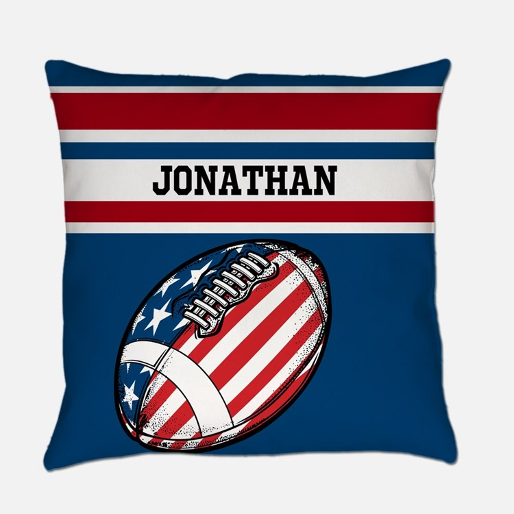 Custom American Football Everyday Pillow